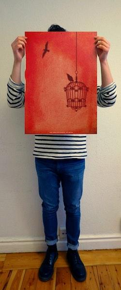 Carl Jonas Love Almqvist - Det går an (Telegram klassiker affisch)