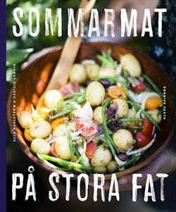 Sommarmat på stora fat