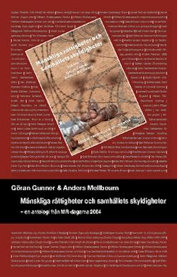 Mänskliga rättigheter och samhällets skyldigheter : en antologi från MR-dagarna 2004