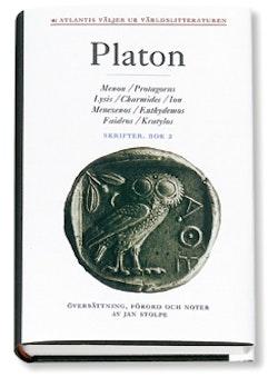 Skrifter 2 Menon Protagoras Lysis Charmides Ion Menexenos Euthydemos Faidro