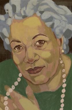 Anteckningsbok Nobelkvinnor. Toni Morrison