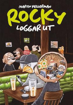 Rocky volym 32. Rocky loggar ut