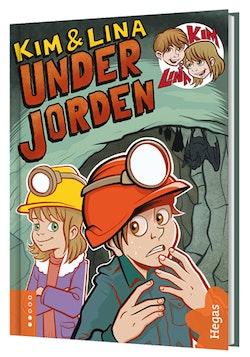 Kim & Lina under jorden (Bok + CD)