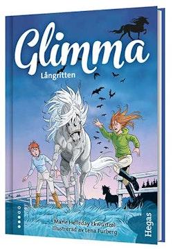 Glimma. Långritten (Bok + CD)