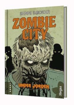Zombie City. Under jorden (Bok+CD)