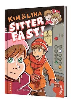 Kim & Lina sitter fast (bok + CD)