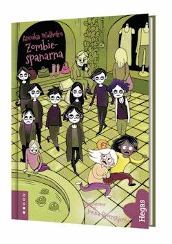 Zombiespanarna (Bok+CD)