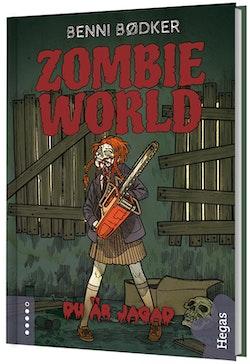 Zombie World. Du är jagad (bok+CD)