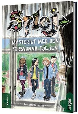 Mysteriet med den försvunna tjejen (bok+CD)