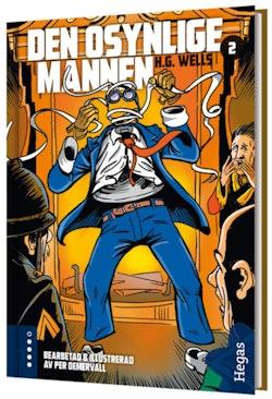 Den osynlige mannen (BOK+CD)