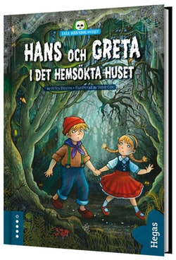 Hans och Greta och det hemsökta huset (bok+CD)