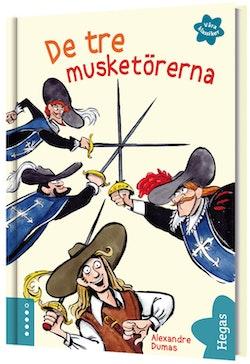 De tre musketörerna (bok + CD)
