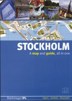 Stockholm (engelsk) : A map and a guide, all in one