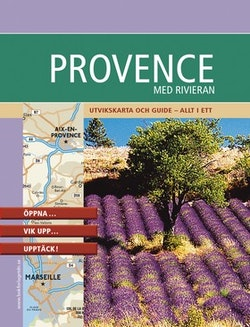 Provence : praktisk kartguide i fickformat