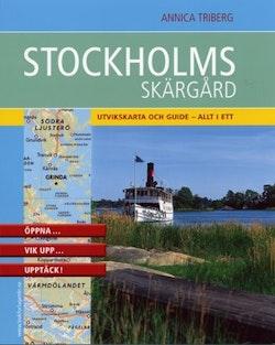 Stockholms skärgård : praktisk kartguide i fickformat