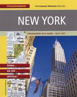 New York : praktisk kartguide i fickformat