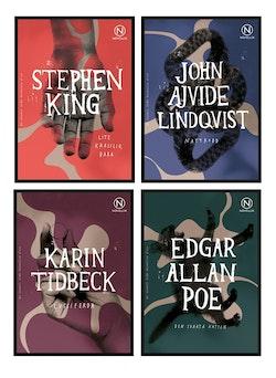Tema skräck - paket med 24 böcker