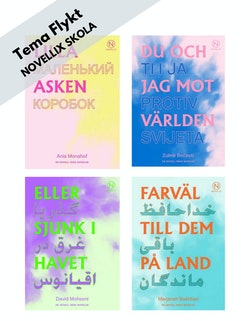 Tema Flykt - paket med 24 böcker