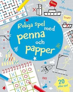 Roliga spel med penna och papper