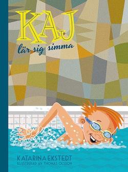Kaj lär sig simma (litet format)