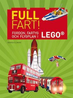 Full fart! : fordon, fartyg och flygplan i Lego