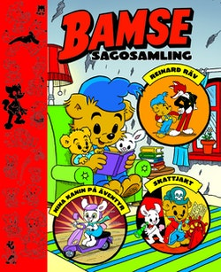 Bamse sagosamling. Bamse och Reinard Räv ; Bamse och Nina Kanin på äventyr ; Bamse på skattjakt