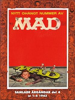 MAD - samlade årgångar. Del 4, Nr 1-6 1963