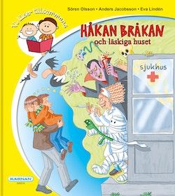 Vi läser tillsammans : Håkan Bråkan och läskiga huset