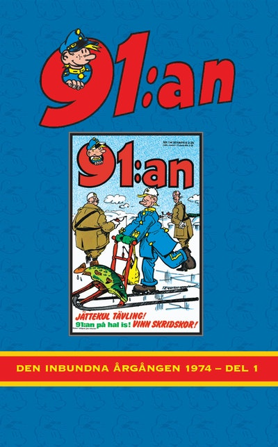 91:an. Den inbundna årgångar 1974, Del 1