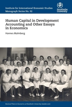Human capital in development accounting and other essays in economics