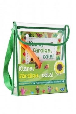 Klara, färdiga, odla! : roliga och inspirerande projekt för barn som gillar att odla och pyssla
