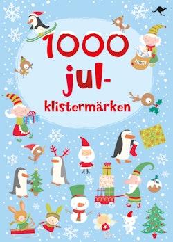 1000 julklistermärken