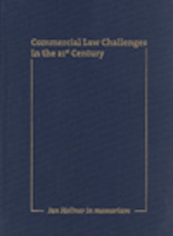 Jan Hellner in memoriam – Commercial Law Challenges in the 21st Century