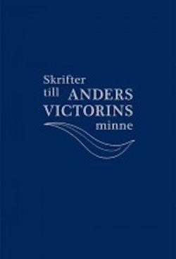 Skrifter till Anders Victorins minne