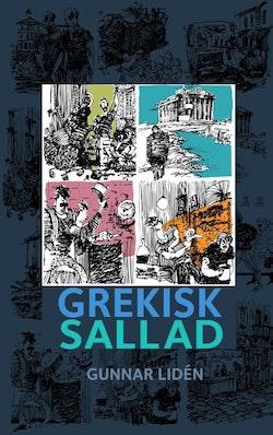 Grekisk sallad : Teckningar och dikter från Grekland 2012-2014