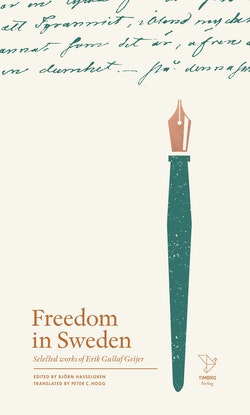 Freedom in Sweden : selected works of Erik Gustaf Geijer