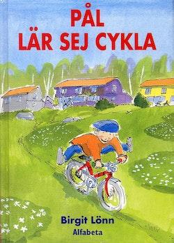 Pål lär sig cykla