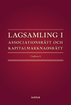 Lagsamling i associationsrätt och kapitalmarknadsrätt