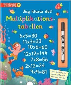 Jag klarar det : multiplikationstabellen