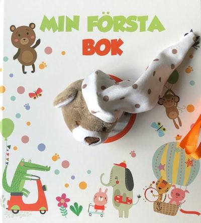 Min första bok (babyalbum med snuttefilt)