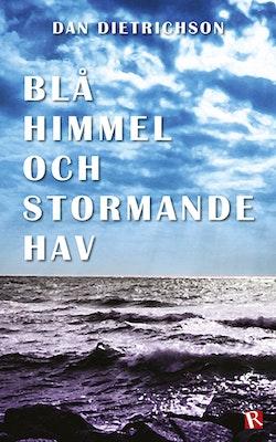 Blå himmel och stormande hav