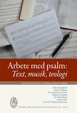 Arbete med psalm: Text, musik, teologi