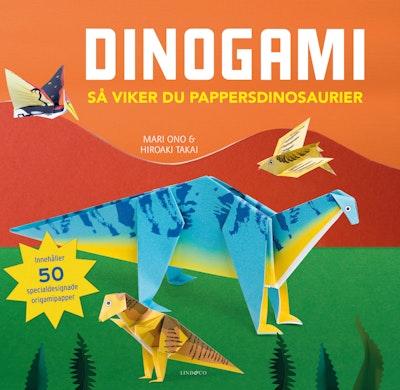 Dinogami : så viker du pappersdinosaurier