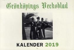 Grönköpings Veckoblad väggkalender 2019