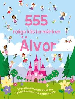 555 roliga klistermärken : älvor
