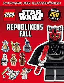 LEGO Star Wars. Republikens fall, faktabok med klistermärken