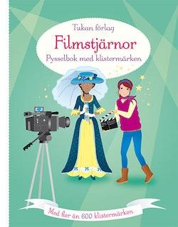 Filmstjärnor : pysselbok med klistermärken