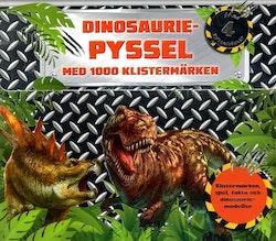 Dinosauriepyssel: med 1000 klistermärken