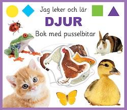 Djur : bok med pusselbitar