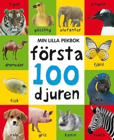 Min lilla pekbok : första 100 djuren